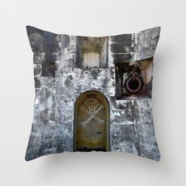 Dead man's Dungeon Throw Pillow