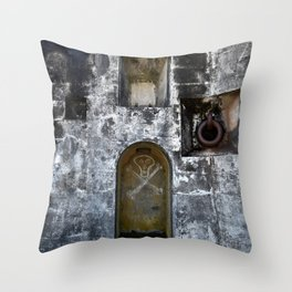 Dead man's Dungeon Throw Pillow
