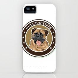 dog breed Bullmastiff iPhone Case