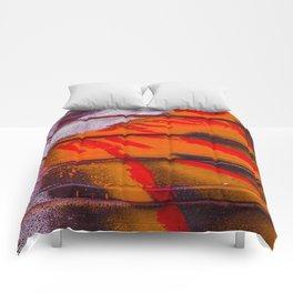 Abstract Sun Blast Comforters