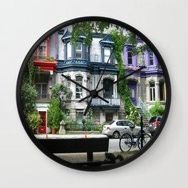 Montreal Canada Wall Clock