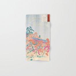 Kobayashi Kiyochika - Sketches of the Famous Sights of Japan - Tsutenkyo - Digital Remastered Edition Hand & Bath Towel