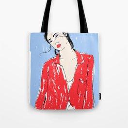 Fashion Contemporary Illustration Tote Bag