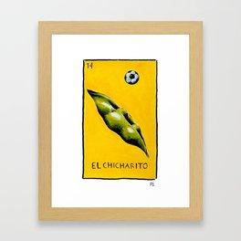 El Chicharito Framed Art Print