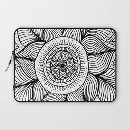 Doodle Flower Laptop Sleeve