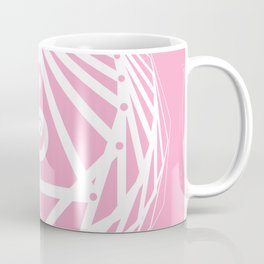 Radiant Abundance (pink-white) Coffee Mug