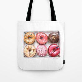 Glorious Glazed Donuts Tote Bag