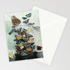 Butterfly Jar Stationery Cards