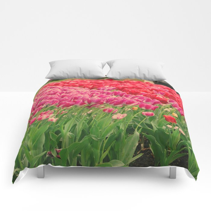 The dancing tulips Comforters