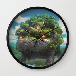 Moving Forest Wall Clock