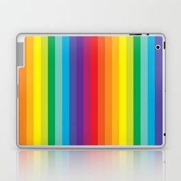 Rainbow Stripes Laptop & iPad Skin