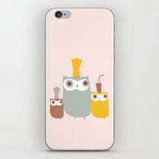 Owls Allowed iPhone & iPod Skin