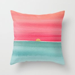 #83. ANNE MARIE - Sunset Throw Pillow