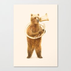 The Bear and its Helicon Canvas Print