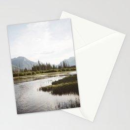 Vermillion Lakes | Banff National Park, Alberta, Canada | John Hill Photography Stationery Cards