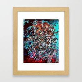 The Mood Framed Art Print