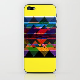Quilt Inspired Abstract  iPhone Skin
