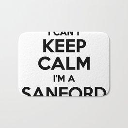 I cant keep calm I am a SANFORD Bath Mat