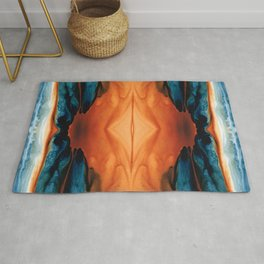The Great Spirit - Abstract Art By Sharon Cummings Rug