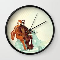 italian Wall Clocks featuring Vintage Italian by RadFive
