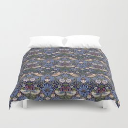 William Morris Strawberry Thief Pattern Duvet Cover