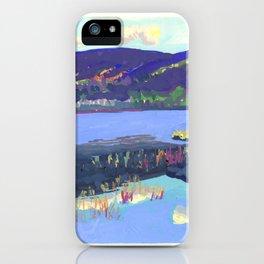 Haddock Pond iPhone Case