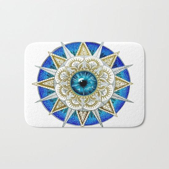 Eye Mandala Bath Mat