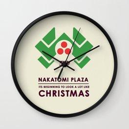 Nakitomi Plaza - Action movie Christmas Wall Clock