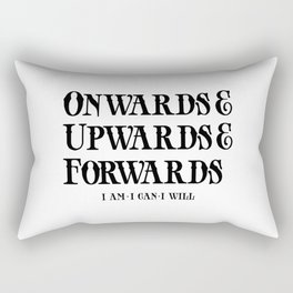 Onwards&Upwards&Forwards Rectangular Pillow