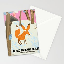 "Kaliningrad ""for an adventure"" Stationery Cards"