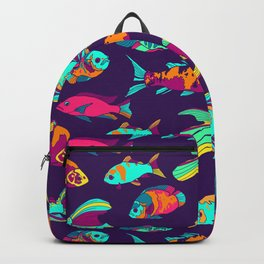 Color Fish Backpack