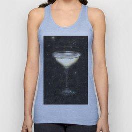 Champagne Nebula Unisex Tank Top