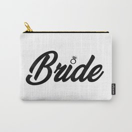 Funny Bride To Be Bridesmaid Bridal Party Gift Carry-All Pouch