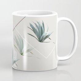 Succulents with Chevrons Coffee Mug
