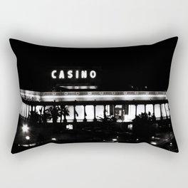 Black & White-Casino Rectangular Pillow