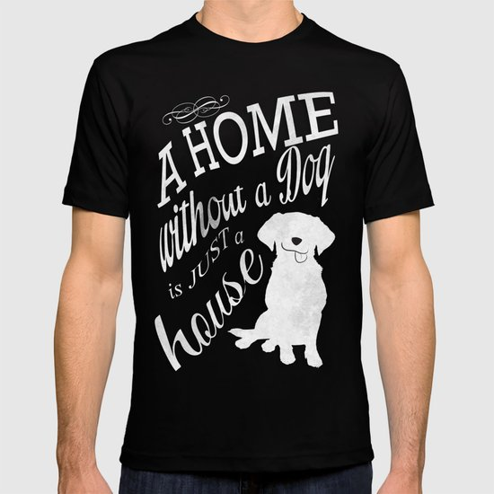 Home with Dog T-shirt
