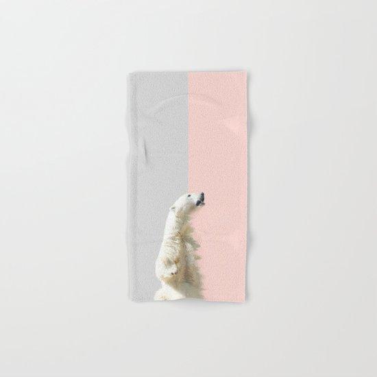 Polar Bear #society6 #decor #buyart Hand & Bath Towel