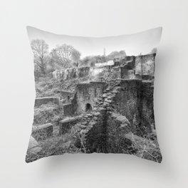 Darkhill Ironworks Throw Pillow