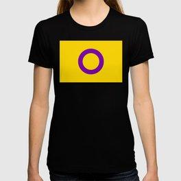 Intersex Flag v2 T-shirt