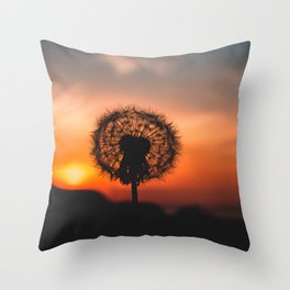 Hope In The Dark Throw Pillow