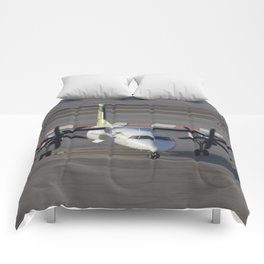Air Baltic Bombardier Dash 8 Q400 Comforters