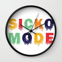 SICKO MODE Wall Clock