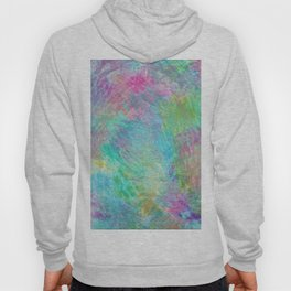 Rainbow Abstract Pattern Hoody