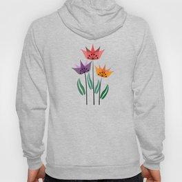 Retro tulips Hoody