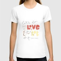marc johns T-shirts featuring marc jacobs quote by Mandie Kuo