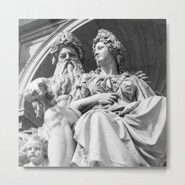 Vienna statue Metal Print