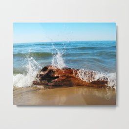 Lake Michigan (01) Metal Print