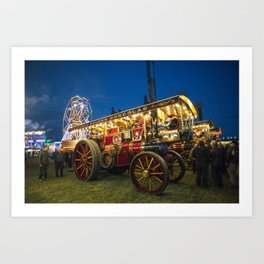 General Gough at the Fair  Art Print
