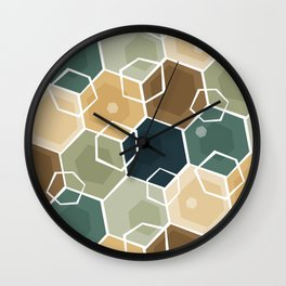 Cubes Wall Clock