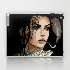 The pipe smoking Lady Laptop & iPad Skin